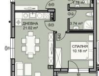 Продава, ТРИСТАЕН, гр. София, Малинова долина, 93 кв.м., Euro 99 447